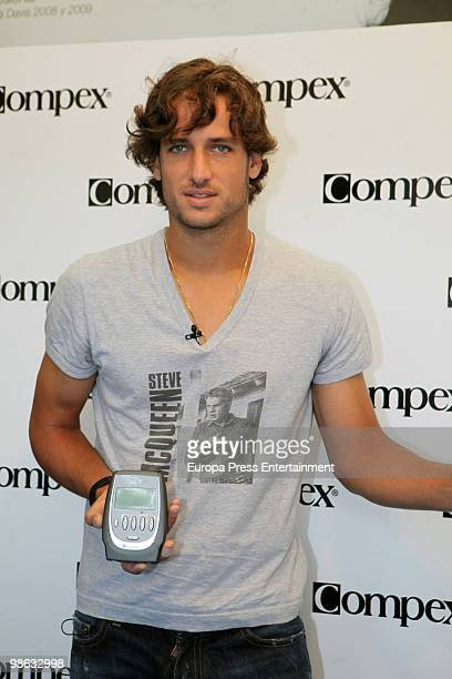 Feliciano Lopez attend Barcelona Open Banco Sabadell 2010 on April 23 2010 in Barcelona Spain
