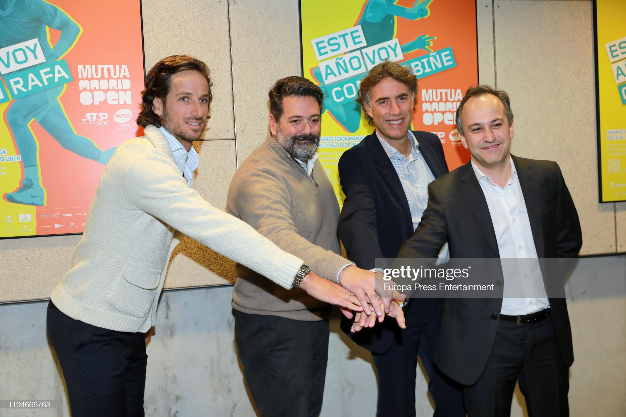 Mutua Madrid Open 2020' Presentation In Madrid : News Photo