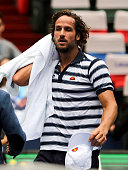 shanghai china feliciano lopez spain action