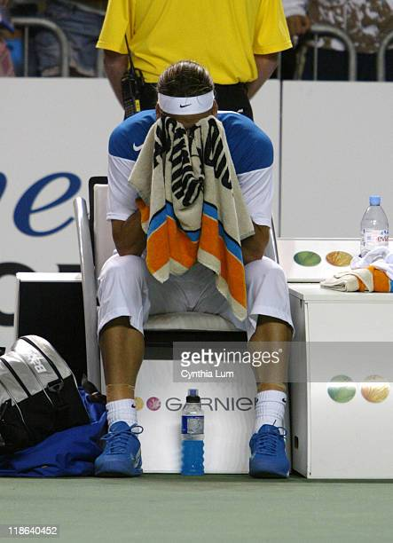 Feliciano Lopez of Spain loses his 3rd round match 1113 in the 5th set at the Australian Open The final score was 63 36 57 76 1311