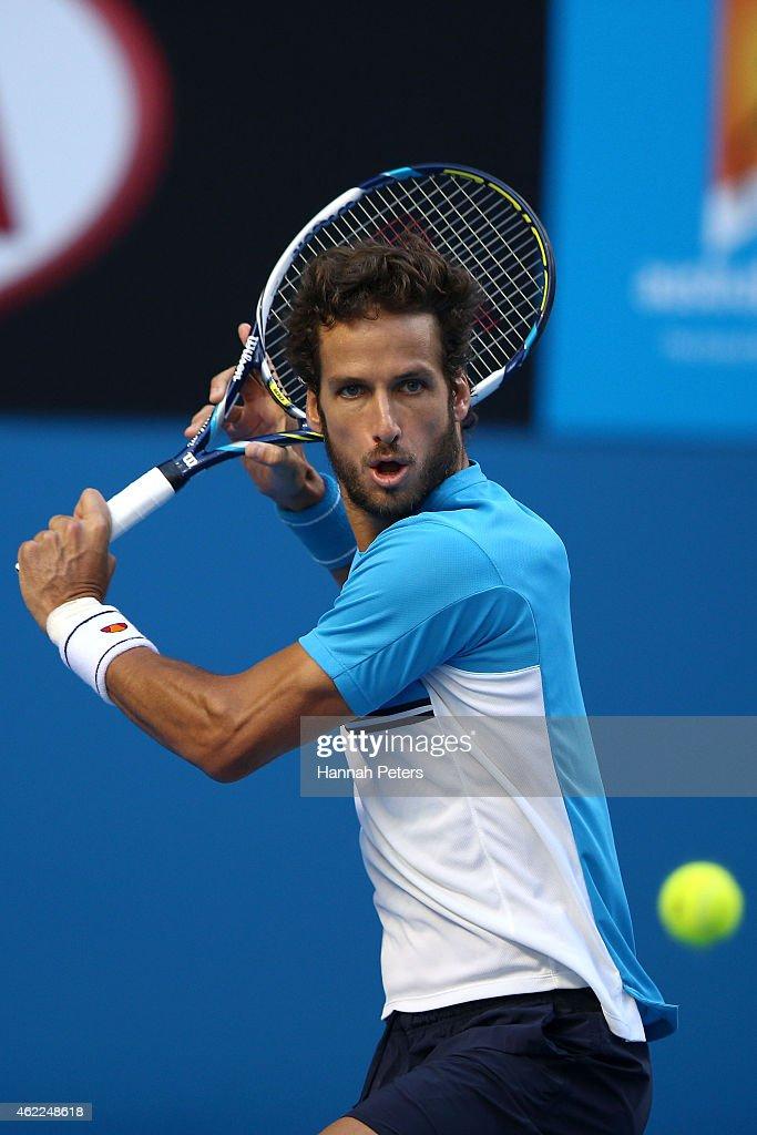 2015 Australian Open - Day 8 : News Photo