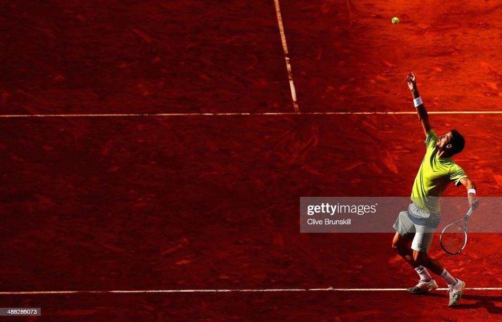 Mutua Madrid Open - Day Three : Nachrichtenfoto