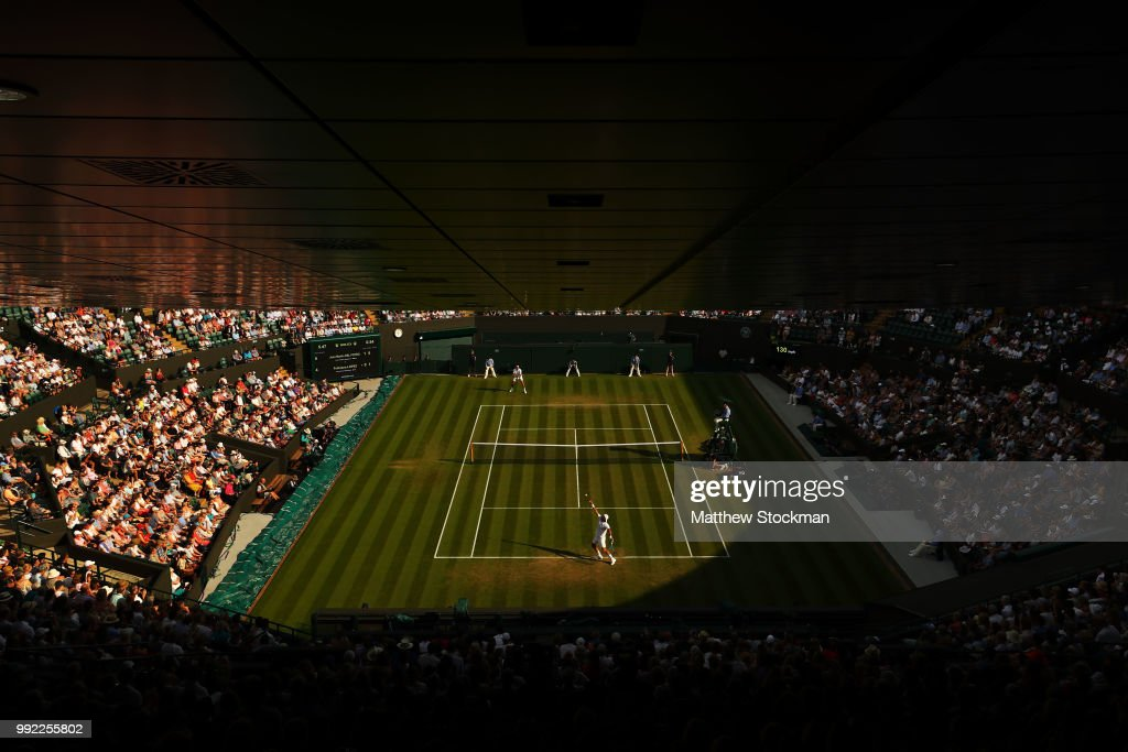 GBR: Day Four: The Championships - Wimbledon 2018