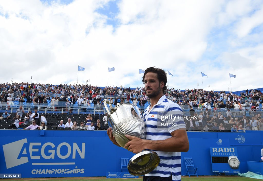 Feliciano Lopez - ATP Aegon Championships : News Photo