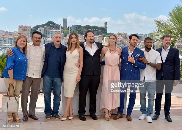 Felicidad and Roberto Duran actors Robert De Niro Ana de Armas director Jonathan Jakubowicz producer Claudine Jakubowicz actors Edgar Ramirez Usher...