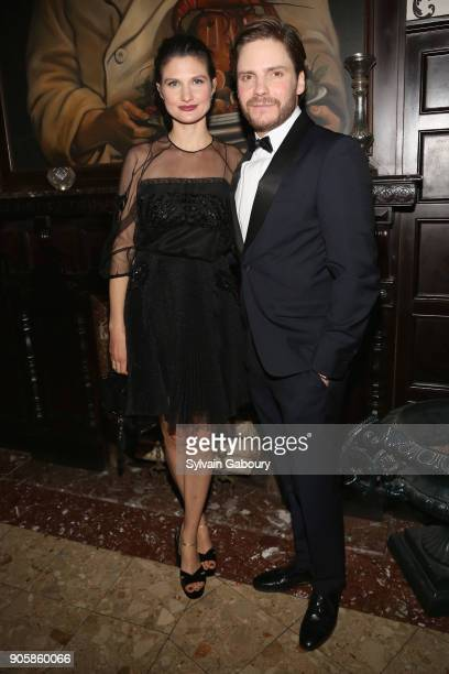 Felicitas Rombold and Daniel Bruhl attend New York Premiere after party for TNT's 'The Alienist' on January 16 2018 in New York City