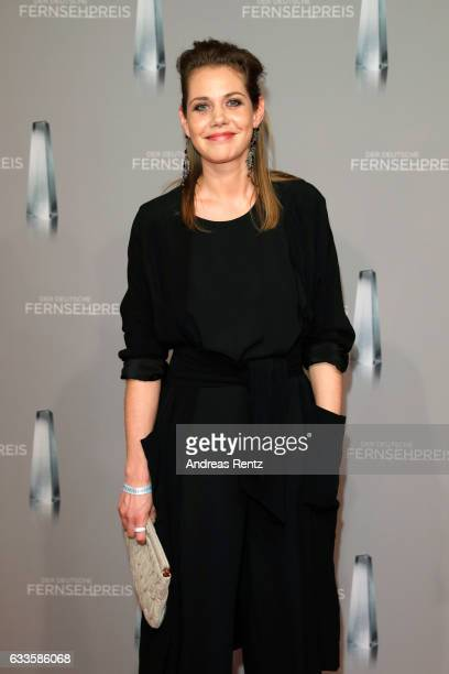 Felicitas Woll attends the German Television Award at Rheinterrasse on February 2 2017 in Duesseldorf Germany