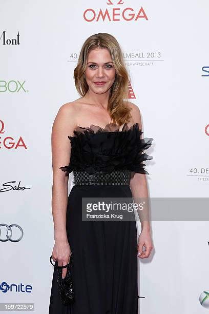 Felicitas Woll attends the Germany Filmball 2013 on January 19 2013 in Munich Germany