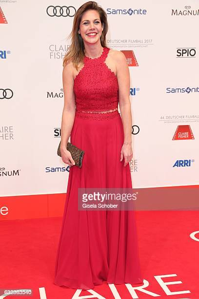 Felicitas Woll during the 44th German Film Ball 2017 arrival at Hotel Bayerischer Hof on January 21 2017 in Munich Germany