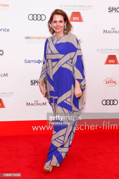 Felicitas Woll during the 46th German Film Ball at Hotel Bayerischer Hof on January 26 2019 in Munich Germany