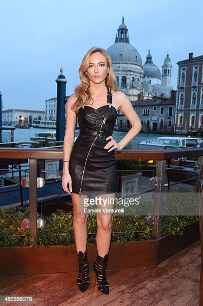 Felicity Gilbert attends Diesel FW14 Collection Presentation Cocktail at Gritti Palace on April 3 2014 in Venice Italy