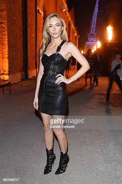Felicity Gilbert attends Diesel FW14 Collection Presentation Show at Tese di San Cristoforo on April 3 2014 in Venice Italy