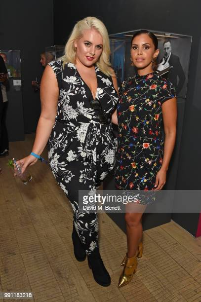 Felicity Hayward and Shanie Ryan attend adidas 'Prouder' A Fat Tony Project in aid of the Albert Kennedy Trust supporting LGBT youth at Heni Gallery...