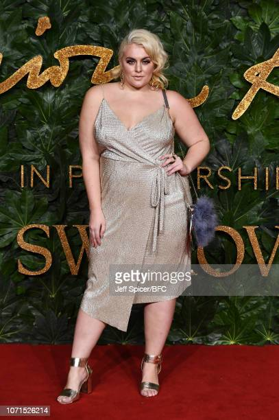 Felicity Hayward arrives at The Fashion Awards 2018 In Partnership With Swarovski at Royal Albert Hall on December 10 2018 in London England
