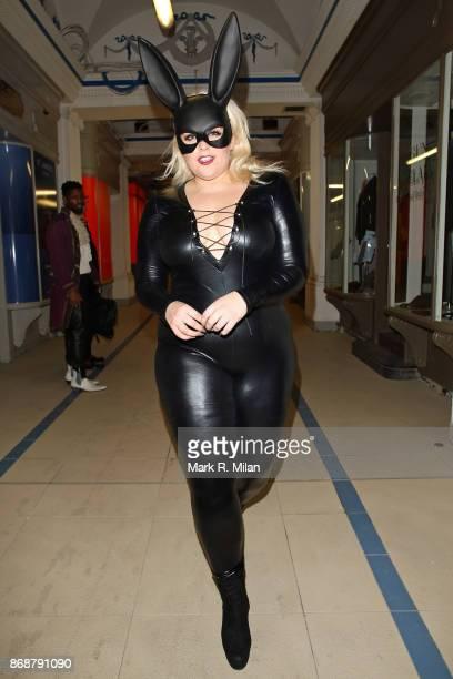 Felicity Hayward at Tramp nightclub on October 31 2017 in London England