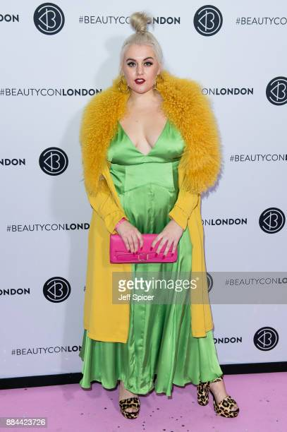 Felicity Hayward attends Beautycon Festival 2017 at Olympia London on December 2 2017 in London England