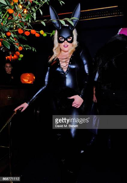 Felicity Hayward attends Fran Cutler's Halloween Freak Show at Tramp on October 31 2017 in London England