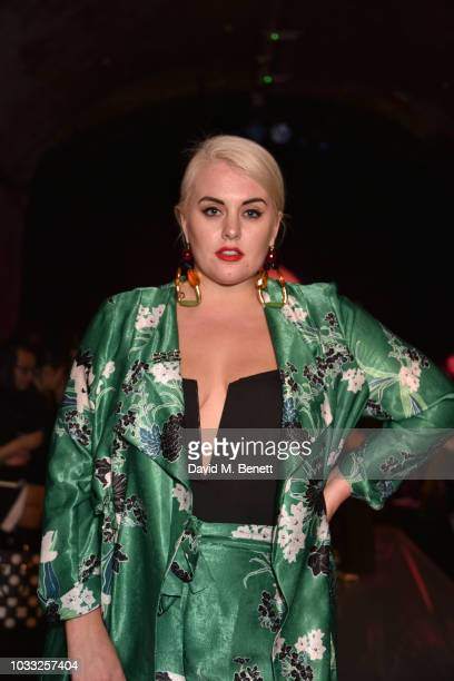Felicity Hayward attends the Ashley Williams front row during London Fashion Week September 2018 at House of Vans on September 14 2018 in London...