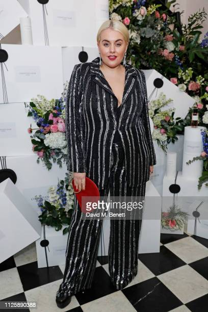 Felicity Hayward attends the Maison Christian Dior London cocktail party on February 19 2019 in London England