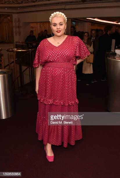 Felicity Hayward attends the press night performance of Madam Butterfly part of the English National Opera's 2019/20 season at The London Coliseum on...