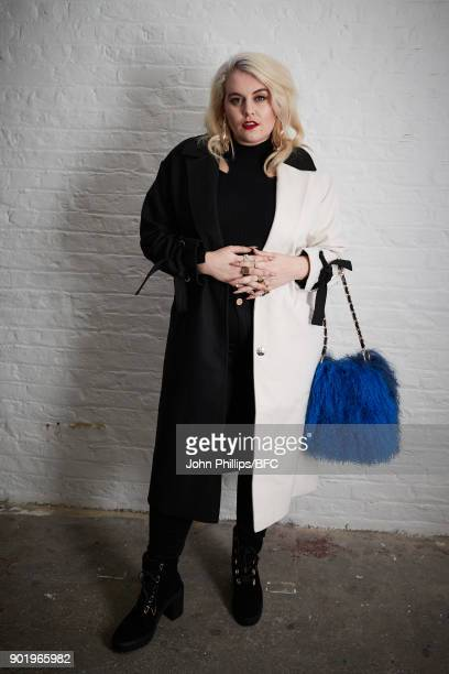Felicity Hayward attends the River Island x Blood Brother Party during London Fashion Week Men's January 2018 at Hoxton Basement on January 6 2018 in...