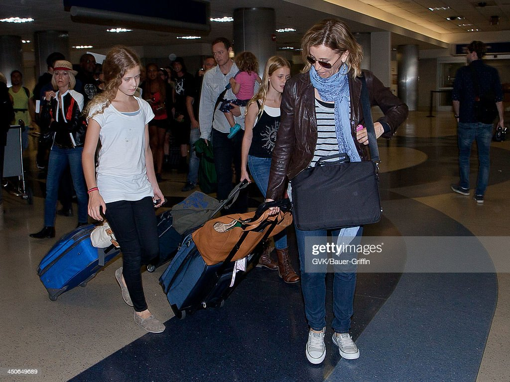 Celebrity Sightings - Bauer-Griffin - 2013 : News Photo
