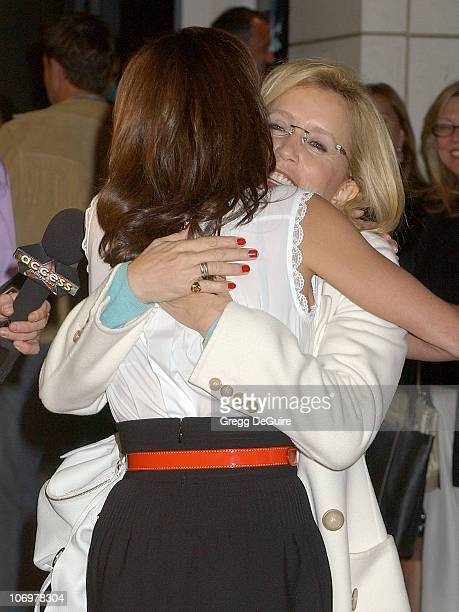 Felicity Huffman and Teri Hatcher during Launch Party for Teri Hatcher's Book 'Burnt Toast and Other Philosophies of Life' Arrivals at Book Soup/Aqua...