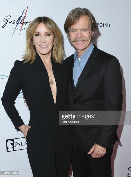 Felicity Huffman and William H Macy attend the premiere Of Paladin and Great Point Media's Krystal at ArcLight Hollywood on April 5 2018 in Hollywood...