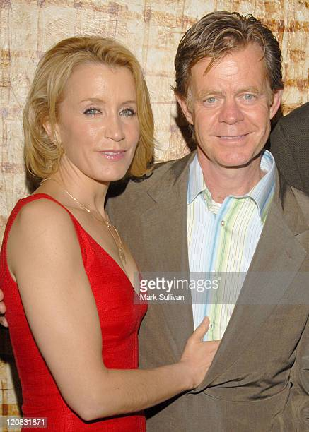 Felicity Huffman and William H Macy during 'Ashes and Snow' Reception for Rainforest Action Network April 20 2006 at Nomadic Museum in Santa Monica...