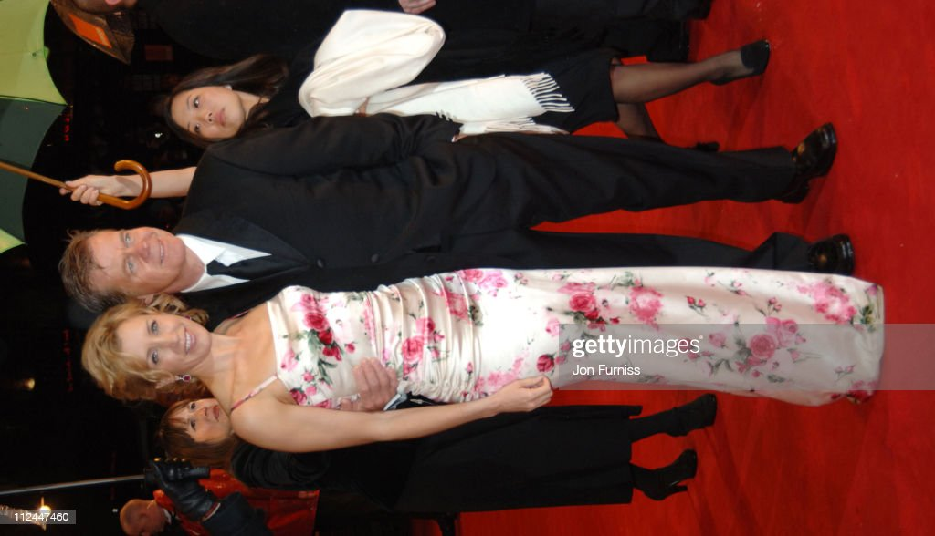 Felicity Huffman and William H. Macy during The Orange British Academy Film Awards 2006 - Outside Arrivals at Odeon Leicester Square in London, Great Britain.