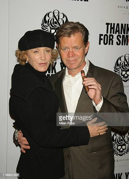 "Felicity Huffman and William H.Macy during ""Thank You For Smoking"" Los Angeles Premiere - Arrivals at Directors Guild Of America in Los Angeles,..."
