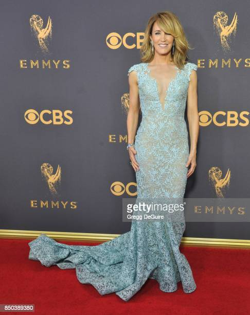 Felicity Huffman arrives at the 69th Annual Primetime Emmy Awards at Microsoft Theater on September 17 2017 in Los Angeles California