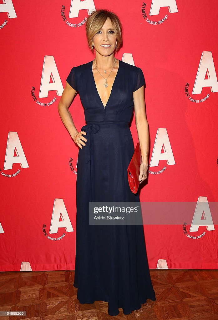 Felicity Huffman attends Atlantic Theater Company 30th Anniversary Gala at The Pierre Hotel on March 2, 2015 in New York City.