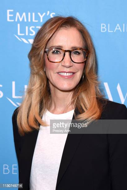 Felicity Huffman attends Raising Our Voices Supporting More Women in Hollywood Politics at Four Seasons Hotel Los Angeles in Beverly Hills on...