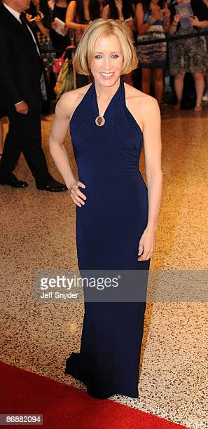 Felicity Huffman attends the 2009 White House Correspondents' Association Dinner at the Washington Hilton on May 9 2009 in Washington DC