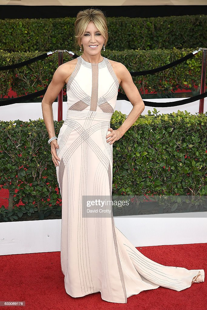 Felicity Huffman attends the 23rd Annual Screen Actors Guild Awards at The Shrine Expo Hall on January 29, 2017 in Los Angeles, California.