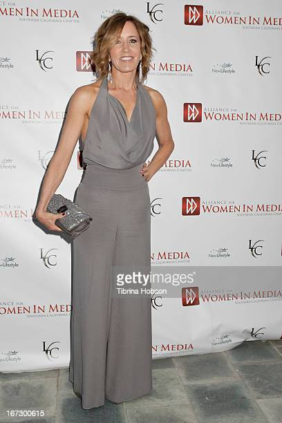 Felicity Huffman attends the 56th annual Genii Awards at Skirball Cultural Center on April 23 2013 in Los Angeles California