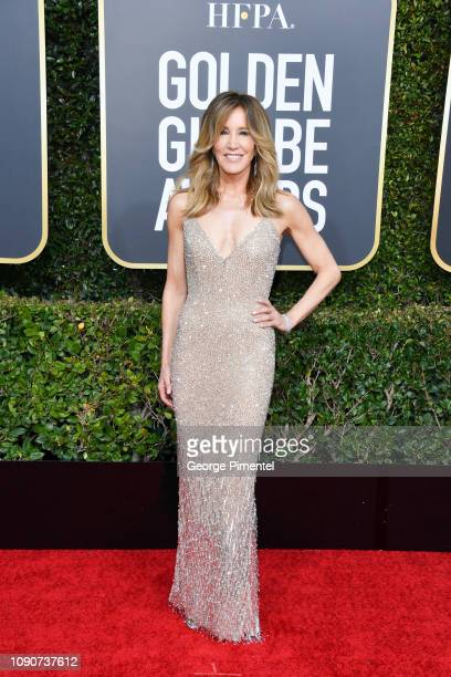 Felicity Huffman attends the 76th Annual Golden Globe Awards held at The Beverly Hilton Hotel on January 06 2019 in Beverly Hills California