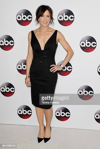 Felicity Huffman attends the Disney/ABC 2016 Winter TCA Tour at Langham Hotel on January 9 2016 in Pasadena California