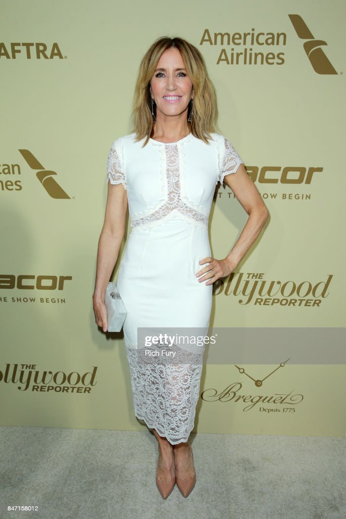 Felicity Huffman attends The Hollywood Reporter and SAG-AFTRA Inaugural Emmy Nominees Night presented by American Airlines, Breguet, and Dacor at the Waldorf Astoria Beverly Hills on September 14, 2017 in Beverly Hills, California.