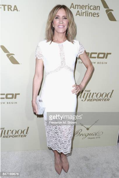 Felicity Huffman attends The Hollywood Reporter and SAGAFTRA Inaugural Emmy Nominees Night presented by American Airlines Breguet and Dacor at the...