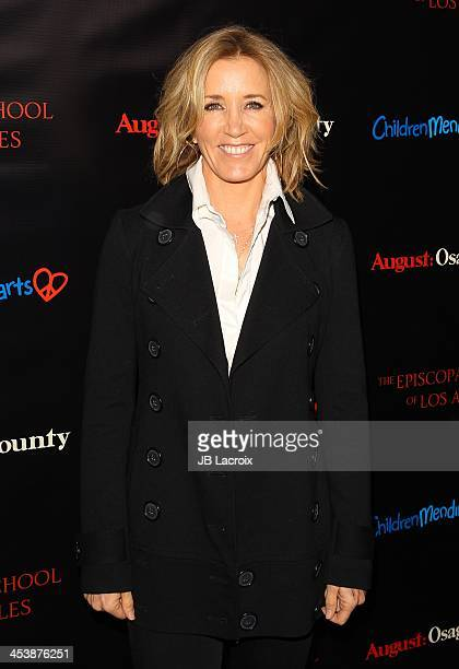 Felicity Huffman attends The Weinstein Company's 'August Osage County' screening benefiting Children Mending Hearts The Episcopal School of Los...
