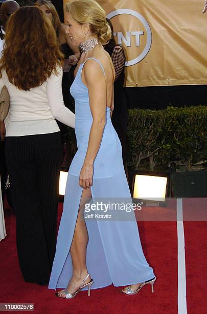 Felicity Huffman during 2005 Screen Actors Guild Awards Arrivals at The Shrine in Los Angeles California United States