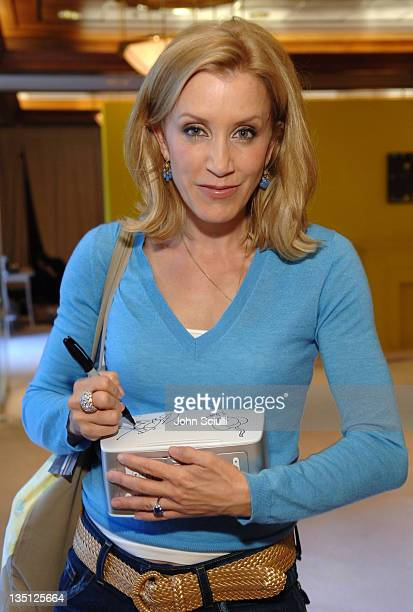 Felicity Huffman during 2005 Toronto Film Festival HP Portrait Studio Presented by WireImage and Inside Entertainment Day 8 at HP Portrait Studio in...