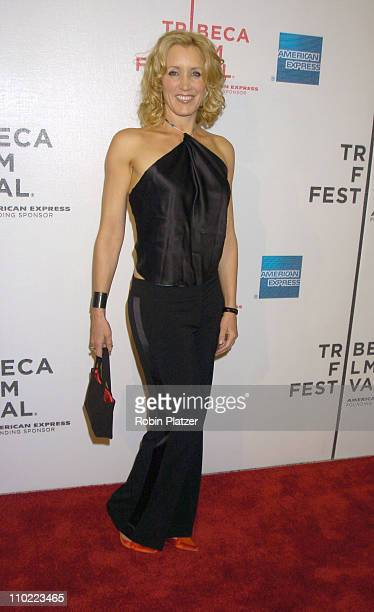 Felicity Huffman during 4th Annual Tribeca Film Festival 'Transamerica' Premiere Arrivals at Stuyvesant High School in New York New York United States