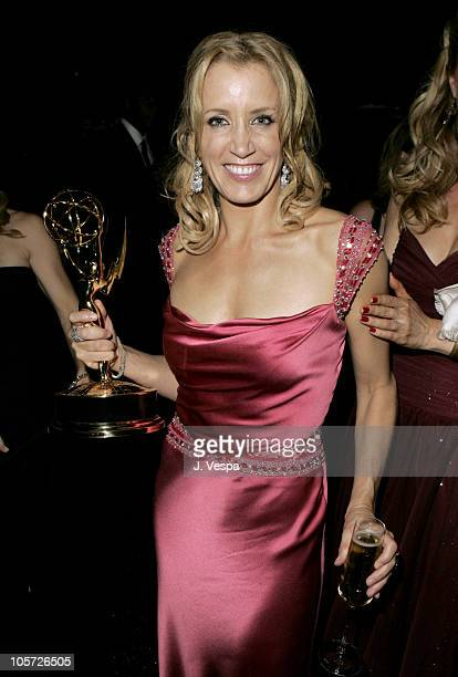 Felicity Huffman during The 57th Annual Emmy Awards Governors Ball at Shrine Auditorium in Los Angeles California United States