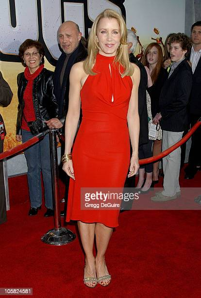 Felicity Huffman during 'Wild Hogs' Los Angeles Premiere Arrivals at El Capitan Theater in Hollywood California United States