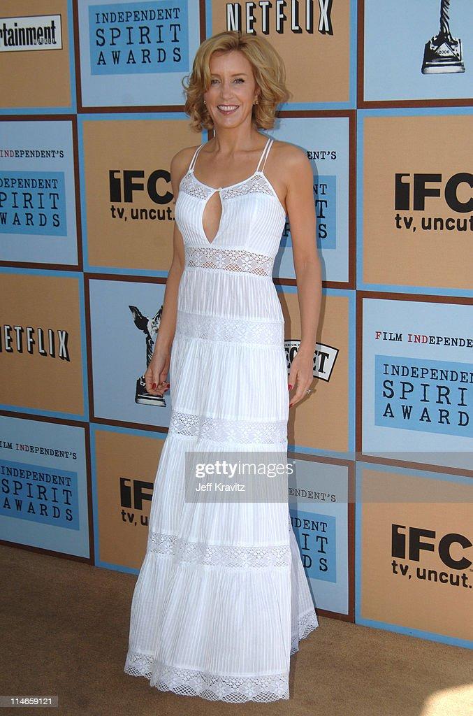 Felicity Huffman, nominee Best Female Lead for 'Transamerica'