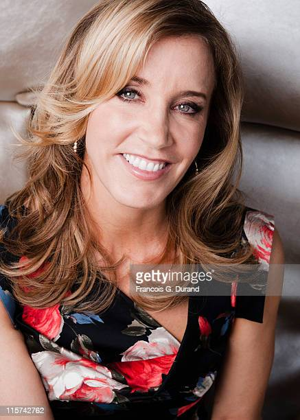 Felicity Huffman poses at a portrait session during the 2011 Monte Carlo Television Festival held at the Grimaldi Forum on June 9, 2011 in Monaco,...