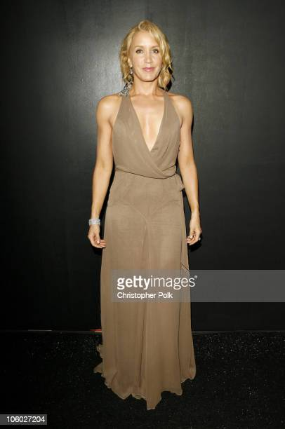 Felicity Huffman presenter during 58th Annual Primetime Emmy Awards Backstage at The Shrine Auditorium in Los Angeles California United States